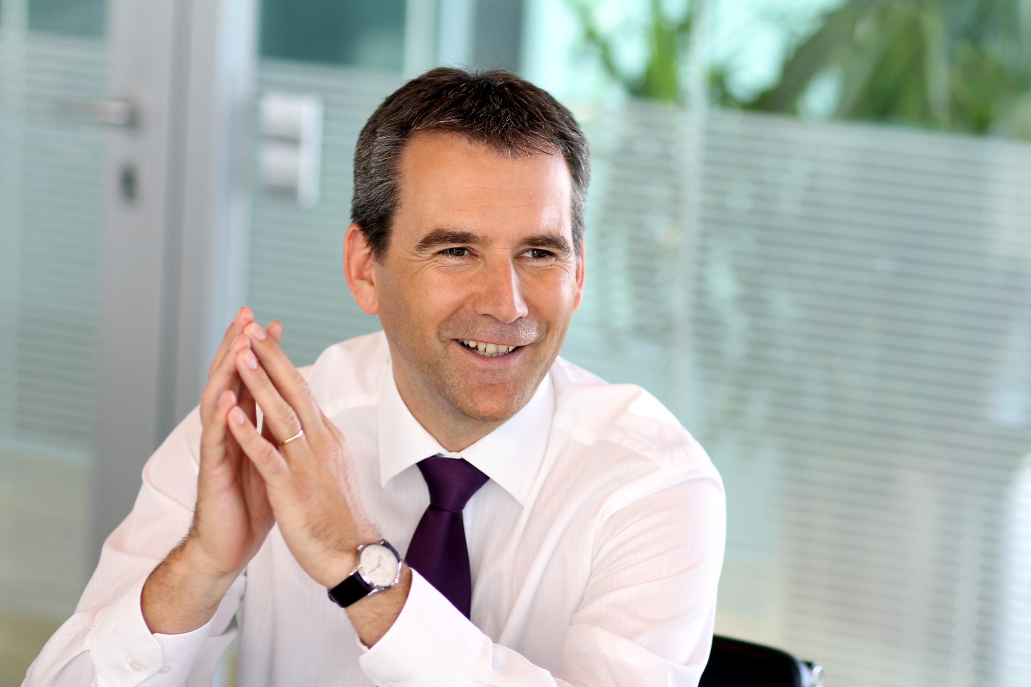 Austrian Minister of Finance Hartwig Loger