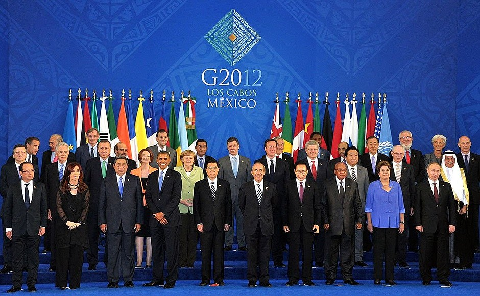 G20 in Mexico