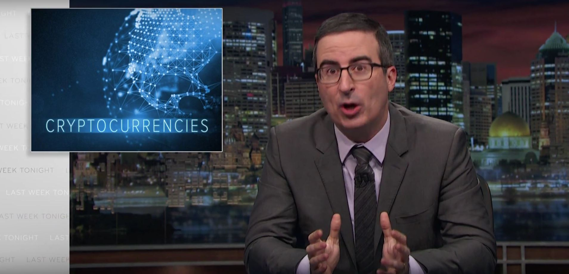John Oliver and Cryptocurrencies